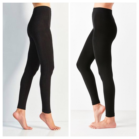 3d1d82165 Out From Under Black Fleece Lined Footless Tight
